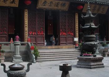 The Jade Buddha Temple in Shanghai