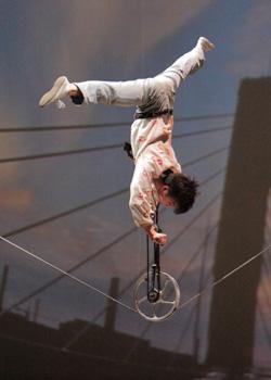 Shanghai acrobat performance